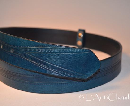 Ceinture bleue zip3
