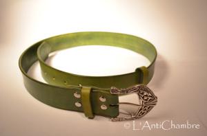 Ceinture vert olive2